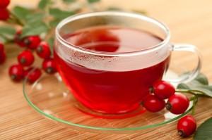 Rosehip Tea - Manfaat Penyembuhan Herbal Satu cangkir teh hanya mengandung